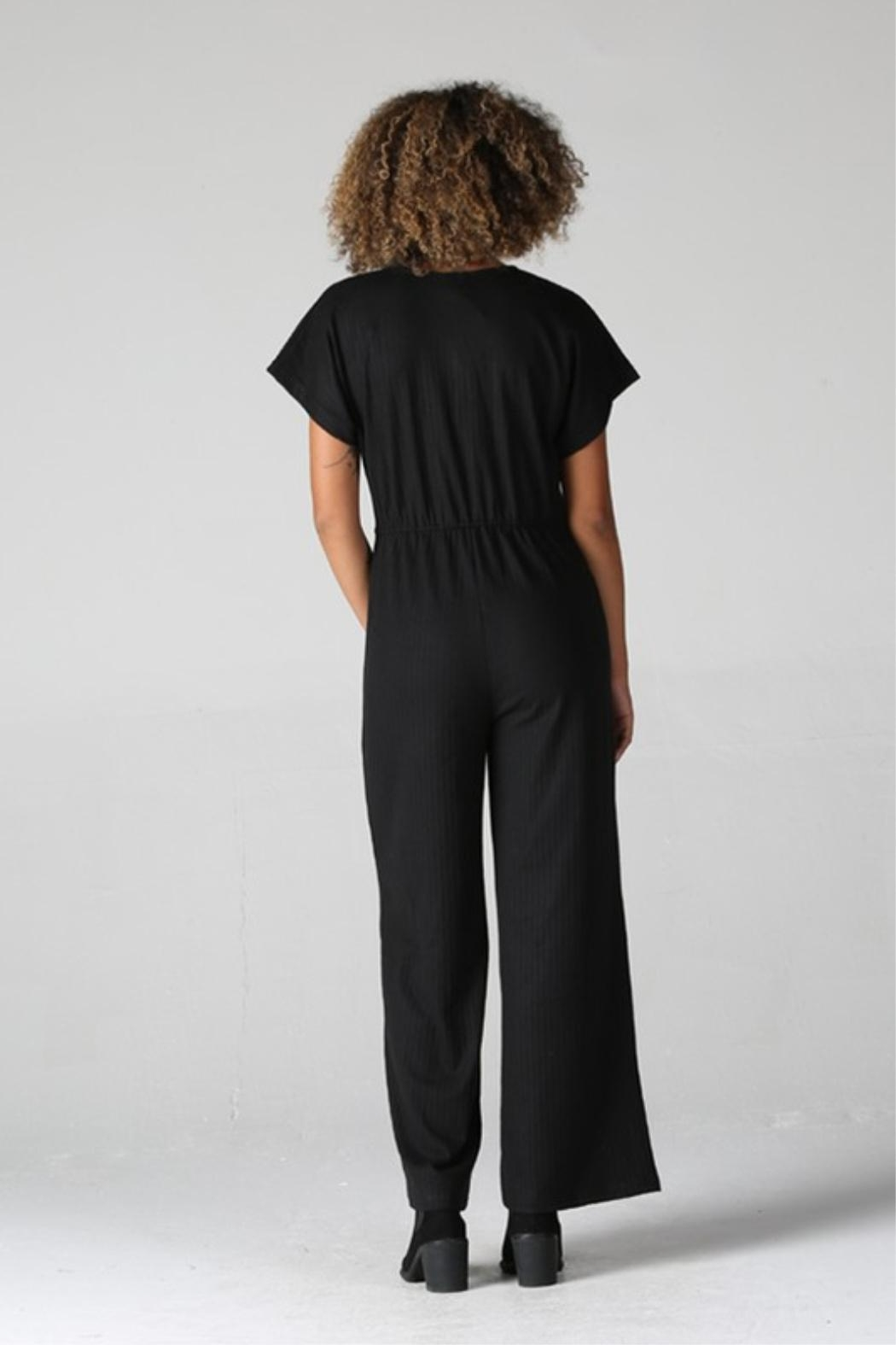 Angie Night Out Jumpsuit - Front Full Image