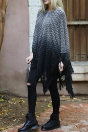 Angie Ombre Fringe Poncho - Side cropped