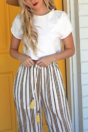 Angie Raw Hem T - Front cropped
