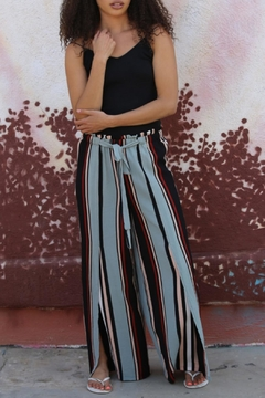 Angie Stripped Palazzo Pant - Product List Image