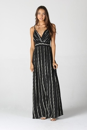 Angie V Neck Maxi Dress - Front cropped