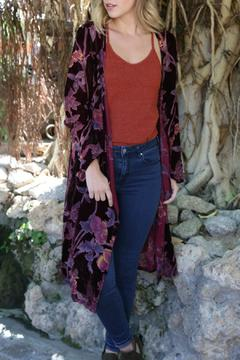 Shoptiques Product: Velvet Burnout Duster