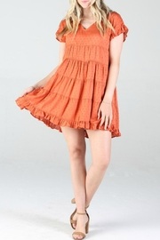 Angie Clothes Tiered Babydoll Dress - Product Mini Image