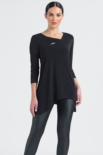 Clara Sunwoo Angled Neckline Tunic from Wallingford by The Dressing Room — Shoptiques