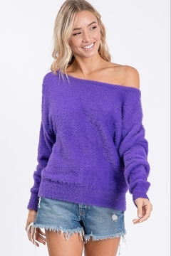 Shoptiques Product: Angora Fur Sweater