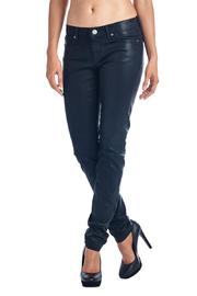 Angry Rabbit Coated Skinny Jeans - Front cropped