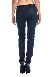 Angry Rabbit Coated Skinny Jeans - Front full body