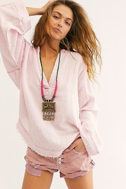 Free People Anguilla Washed Pullover - Front cropped