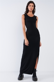 sugar + lips Ani Fitted Cut-Out Maxi Dress - Product Mini Image