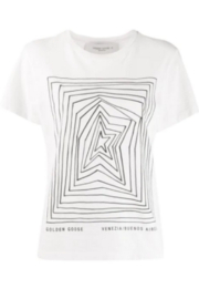 Golden Goose Deluxe Brand Ania Graphic T-Shirt - Product Mini Image