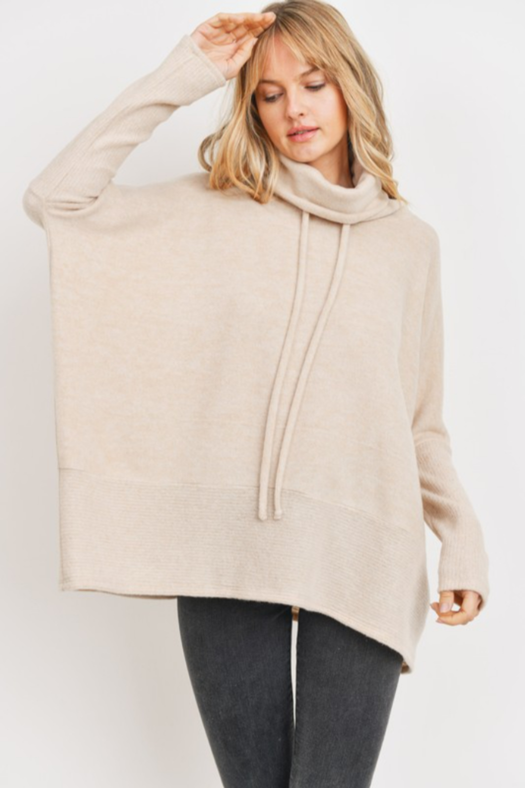Cherish  Anika Drawstring Sweater - Main Image