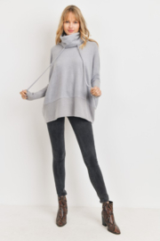 Cherish  Anika Drawstring Sweater - Front full body