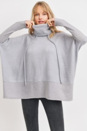 Cherish  Anika Drawstring Sweater - Front cropped