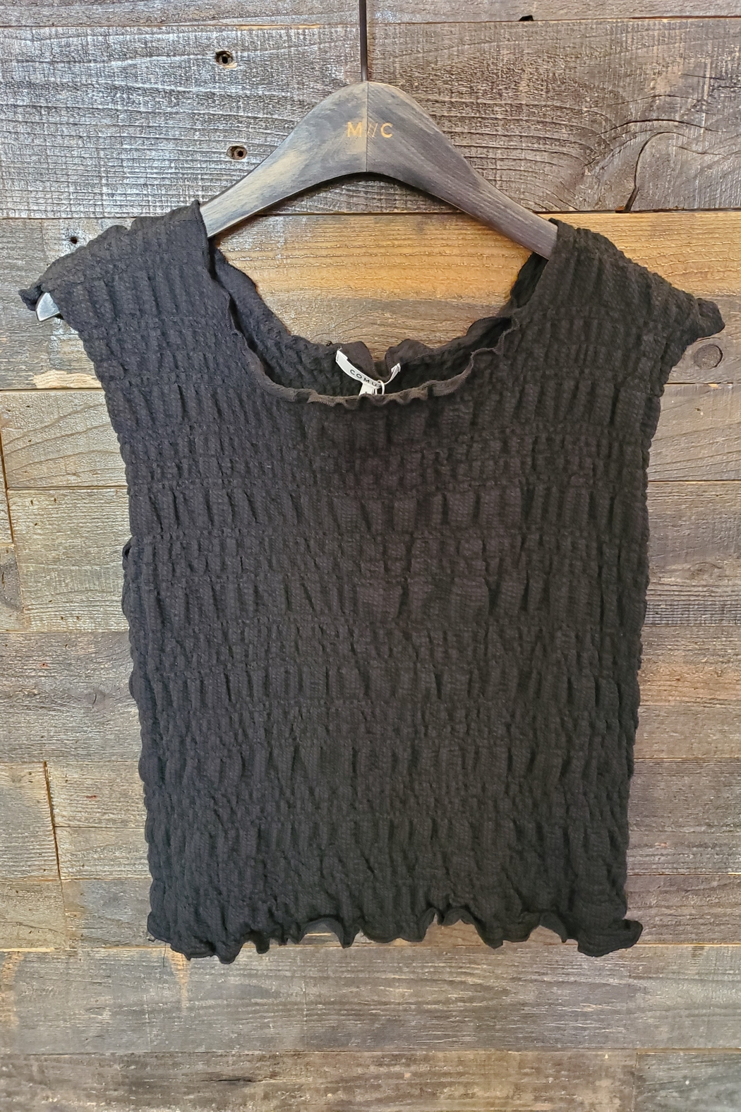 Comune Anika Smocked Tank - Front Cropped Image