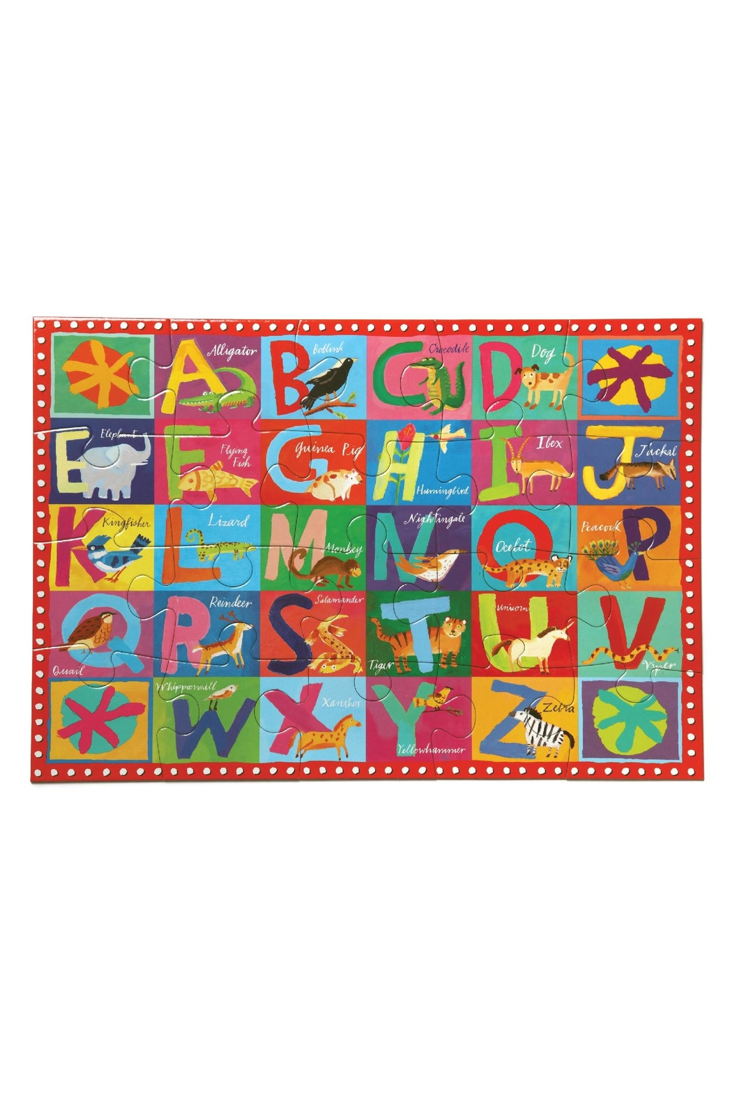 Eeboo Animal Alphabet Puzzle - Front Cropped Image