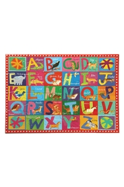 Eeboo Animal Alphabet Puzzle - Front cropped