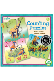 Eeboo Animal Counting Puzzles - Product Mini Image