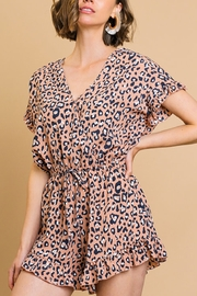 Umgee  Animal Craze Romper - Front cropped