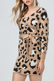Entro  Animal Craze Sweater Dress - Product Mini Image
