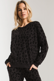 Z Supply  Animal Flocked Pullover - Product Mini Image