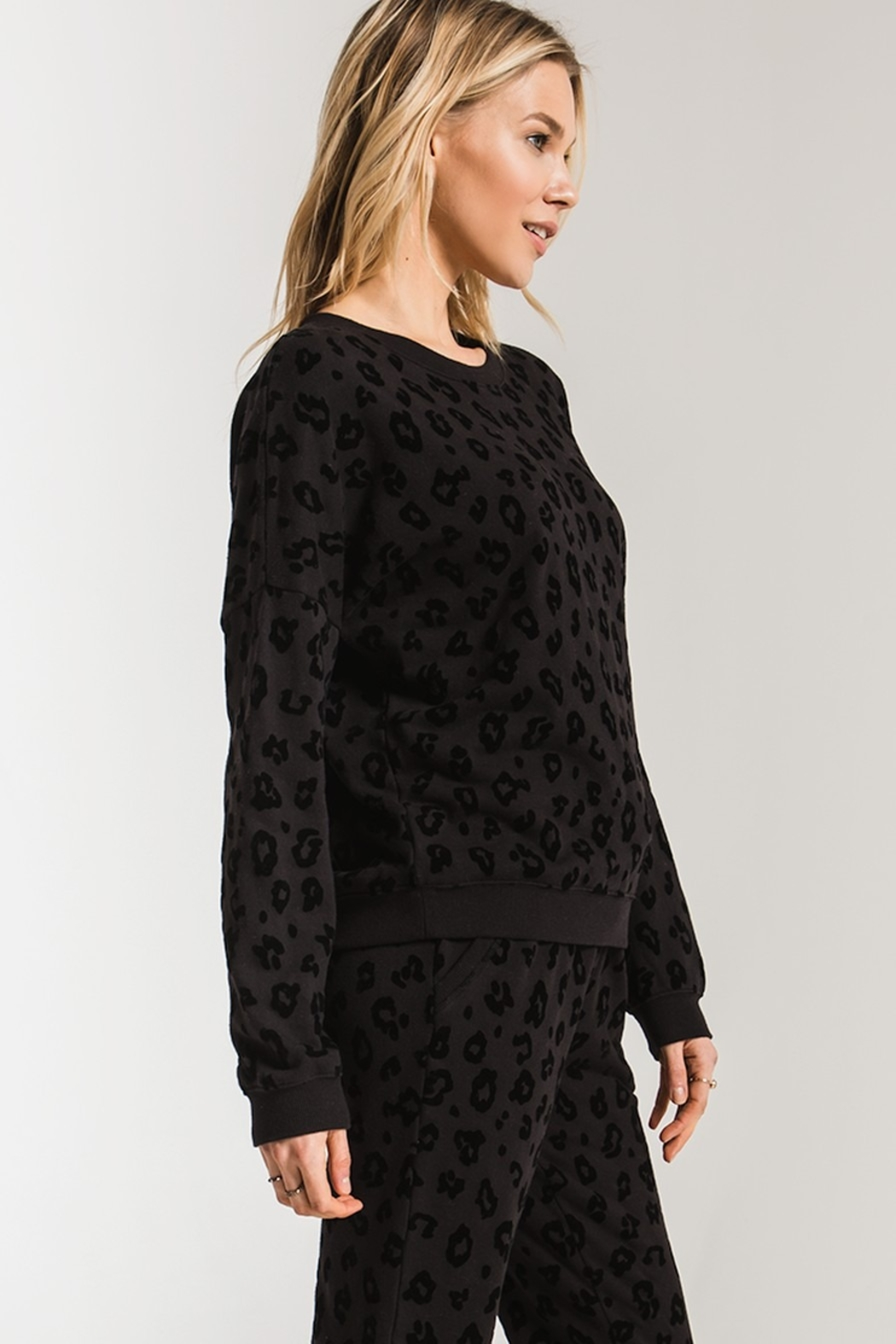z supply Animal Flocked Pullover - Back Cropped Image