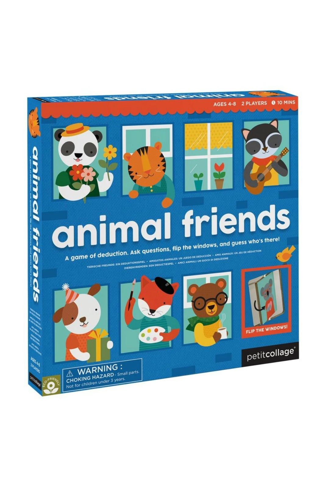 Petit Collage Animal Friends Game - Main Image