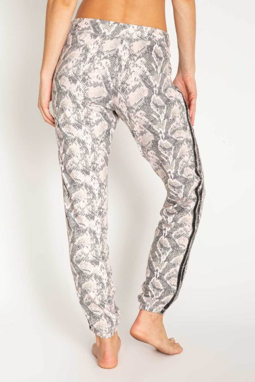 PJ Salvage Animal Instincts banded pant - Side Cropped Image