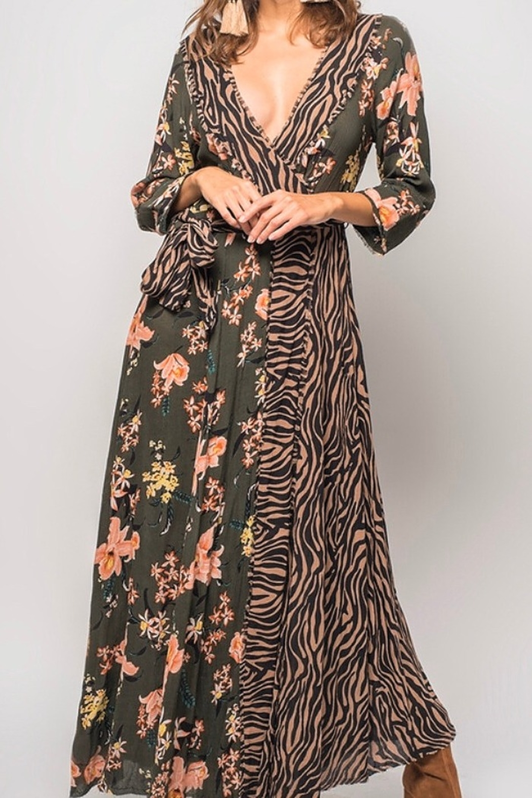 Z&L ANIMAL INSTINCTS MAXI - Front Cropped Image
