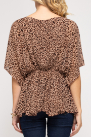 She and Sky Animal Instincts top - Front full body