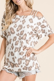 Bibi Animal Instincts top - Front cropped