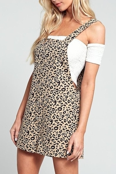 blue blush Animal Overall Romper - Product List Image
