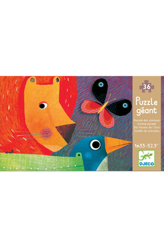 Djeco Animal Parade 36 Piece Puzzle - Product List Image