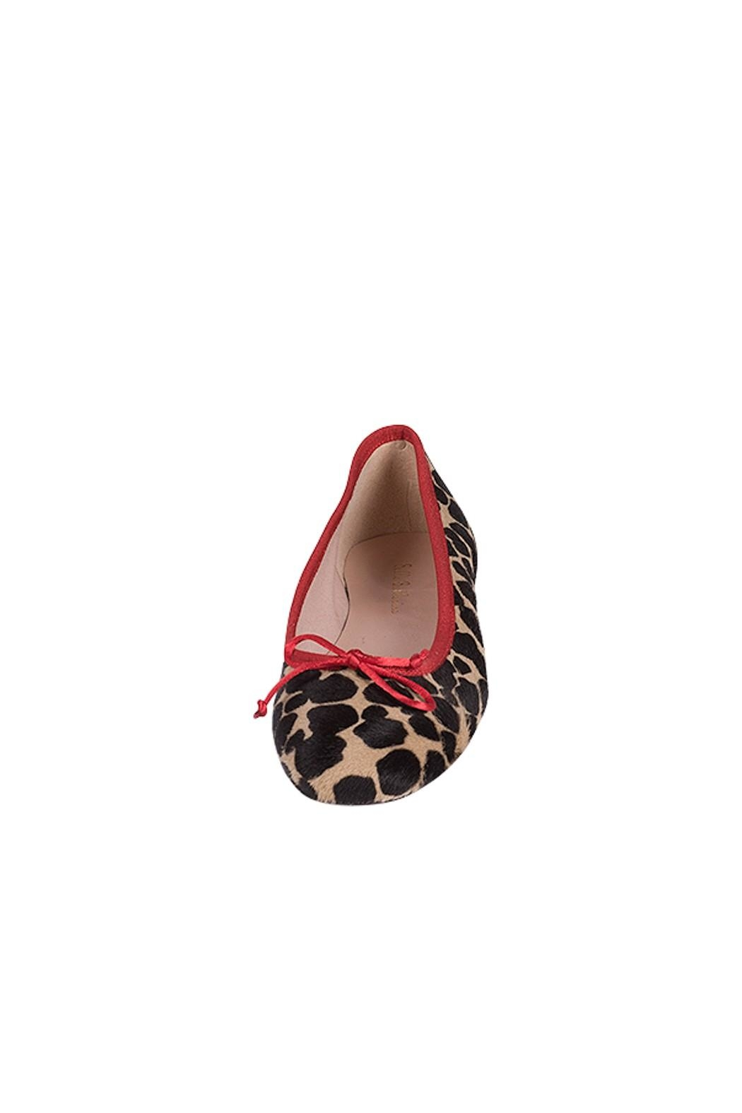 Pascucci Animal Print Ballerina - Side Cropped Image