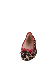 Pascucci Animal Print Ballerina - Side cropped