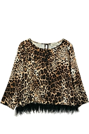 ANTONELLO SERIO Animal Print Blouse - Product Mini Image