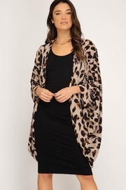 Unknown Factory Animal Print Cardigan - Product Mini Image