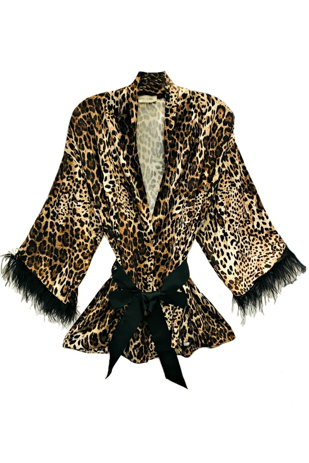 ANTONELLO SERIO Animal Print Cardigan - Main Image