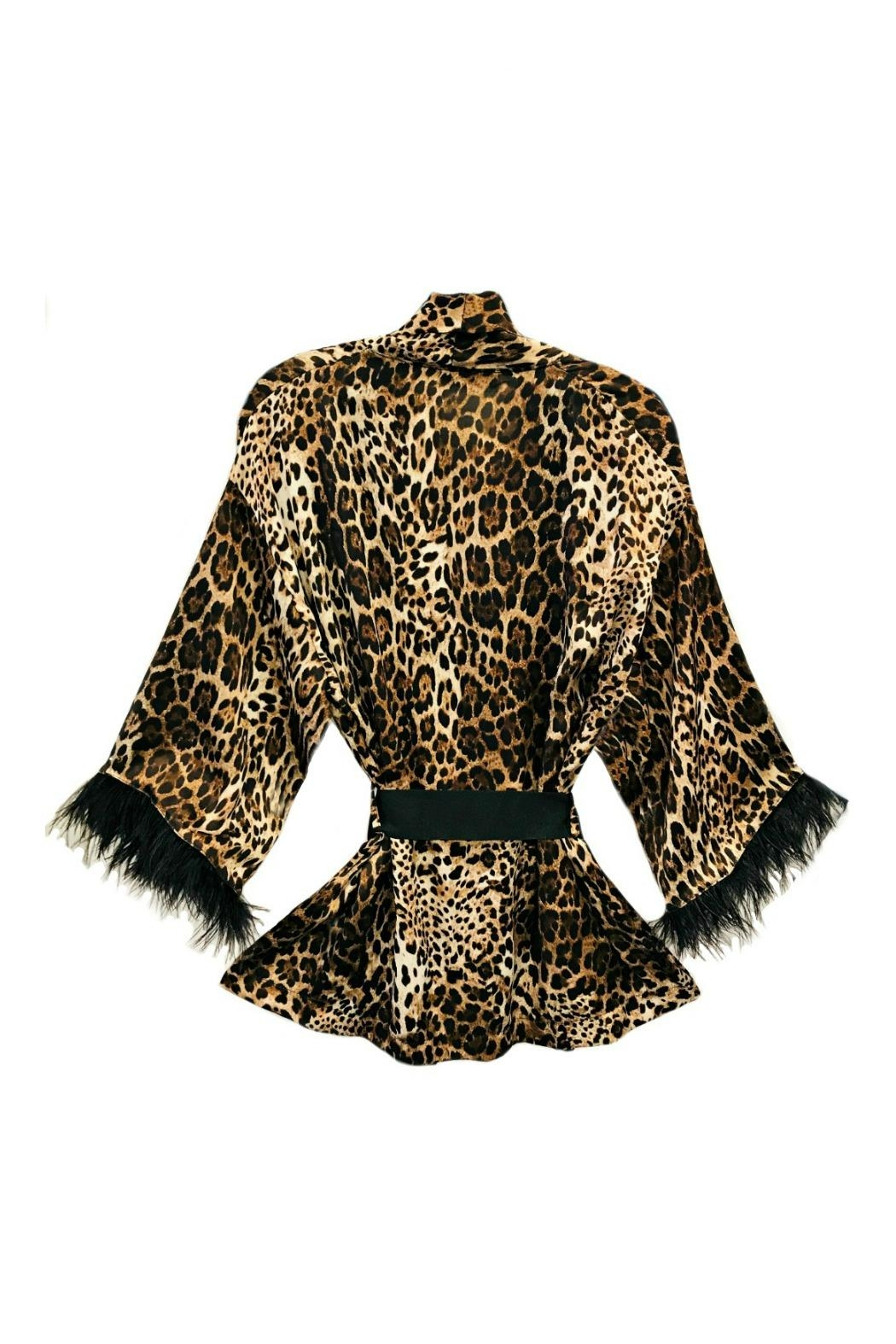 ANTONELLO SERIO Animal Print Cardigan - Front Full Image