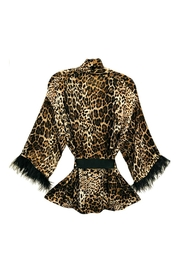 ANTONELLO SERIO Animal Print Cardigan - Front full body