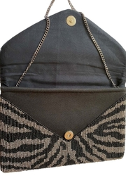 Ole Animal Print Clutch - Front full body