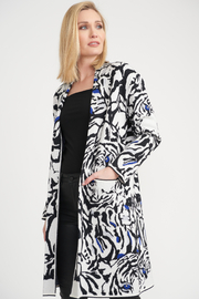 Joseph Ribkoff Animal Print Cover Up - Product Mini Image
