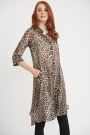 Joseph Ribkoff Animal Print Coverup - Product Mini Image