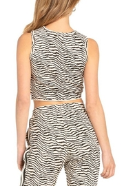 Dance and Marvel Animal Print Crop Top - Side cropped