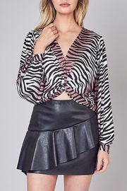 Do & Be Animal Print Crop Top - Product Mini Image