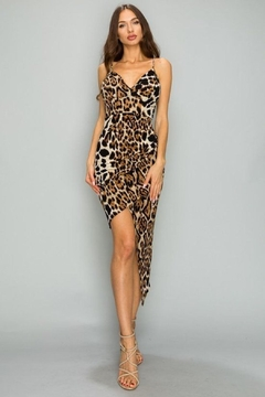 Unknown Factory Animal Print Dress - Product List Image