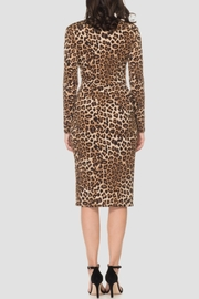 Joseph Ribkoff Animal Print Dress - Front full body