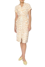 FRNCH Animal Print Dress - Product Mini Image