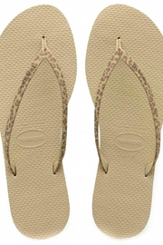 Havaianas Animal Print Flipflops - Front cropped