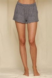 By Together Animal Print French Terry Shorts - Product Mini Image