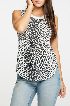 Chaser Animal Print Jersey Tank - Product List Image